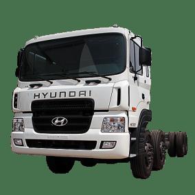 Hyundai Việt Nhật Anh - Hyundai HD320 Chassis