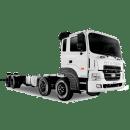 Xe tải Hyundai HD320 chassis