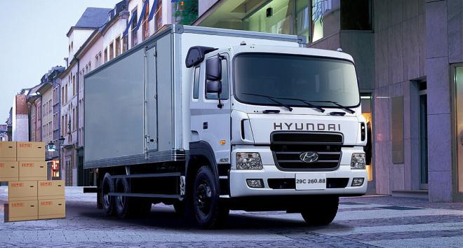 Xe tải Hyundai HD260 chassis